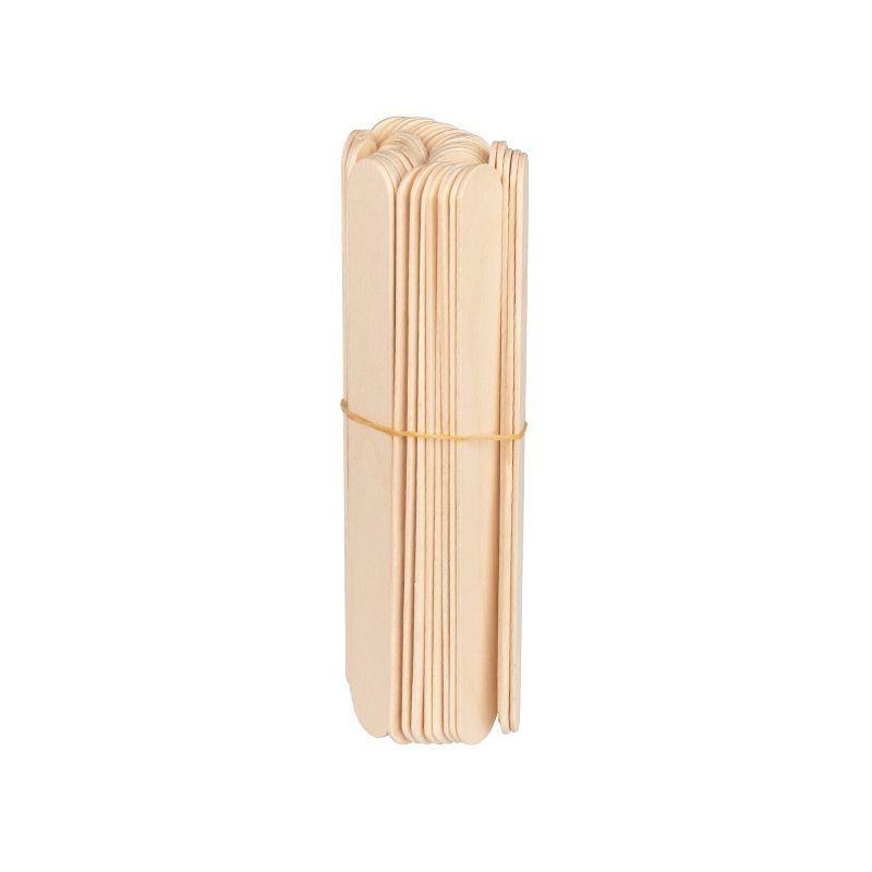 Dřevěná špachtle velká 150x18x1,8mm - 50 ks