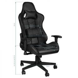 Herní židle PREMIUM 912 - černá