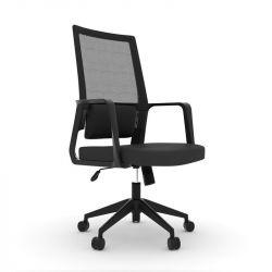 Kancelářská židle KOMFORT 10 - černá