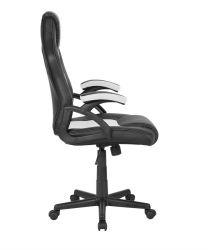 Herní židle Racer CorpoComfort BX-2052 - černobílá