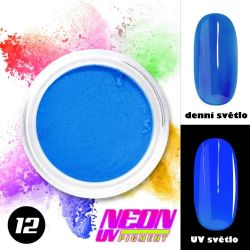Neon UV pigment
