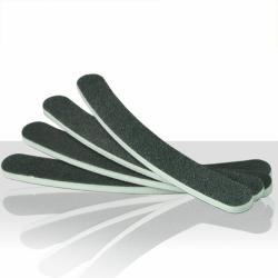 Pilník na nehty černý - banán 100/180