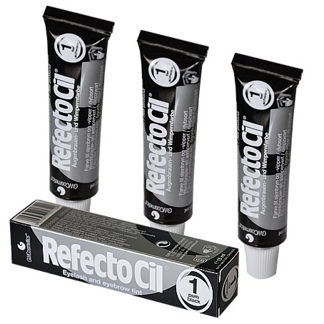 Barva na řasy a obočí Refectocil 15 ml - černá
