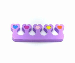 Oddělovač prstů, separátor (1 pár) - fialový