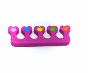 Oddělovač prstů, separátor (1 pár) - růžový