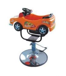 Dětské kadeřnické křeslo BW-602 oranžové