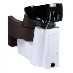 Kadeřnický mycí box LUIGI BR-3542 hnědý