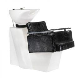 Kadeřnický mycí box SIMONE BM-508 černá