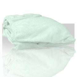 Prostěradlo froté 60x190 cm - bílé