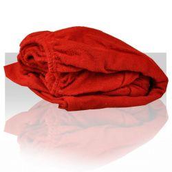 Prostěradlo froté 60x190 cm - červené