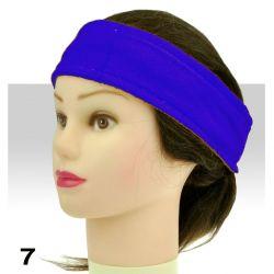 Froté čelenka - tmavě modrá (A)