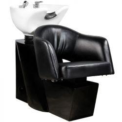 Kadeřnický mycí box GABBIANO LIZBONA černý (AS)