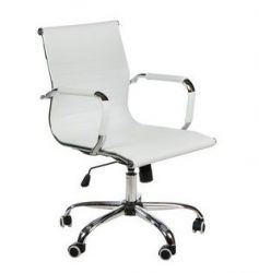 Ergonomické kancelářské křeslo BX-5855 bílé (BS)