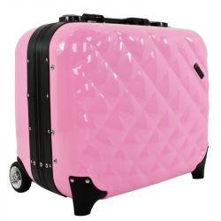 Kosmetický kufr GLAMOUR 9302-2 růžový