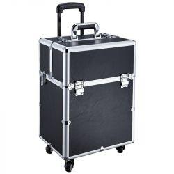 Kosmetický kufr GLAMOUR D-9006 černý (AS)