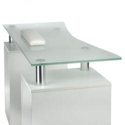 Kosmetický stolek na manikúru BD-3425-1 bílý