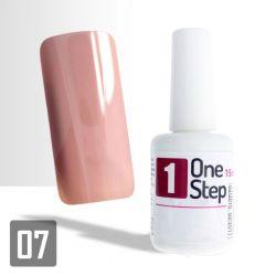 One Step gel UV/LED 3v1 světle růžový A 15ml (A)