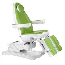 Elektrické kosmetické křeslo MAZARO BR-6672A zelené (BS)