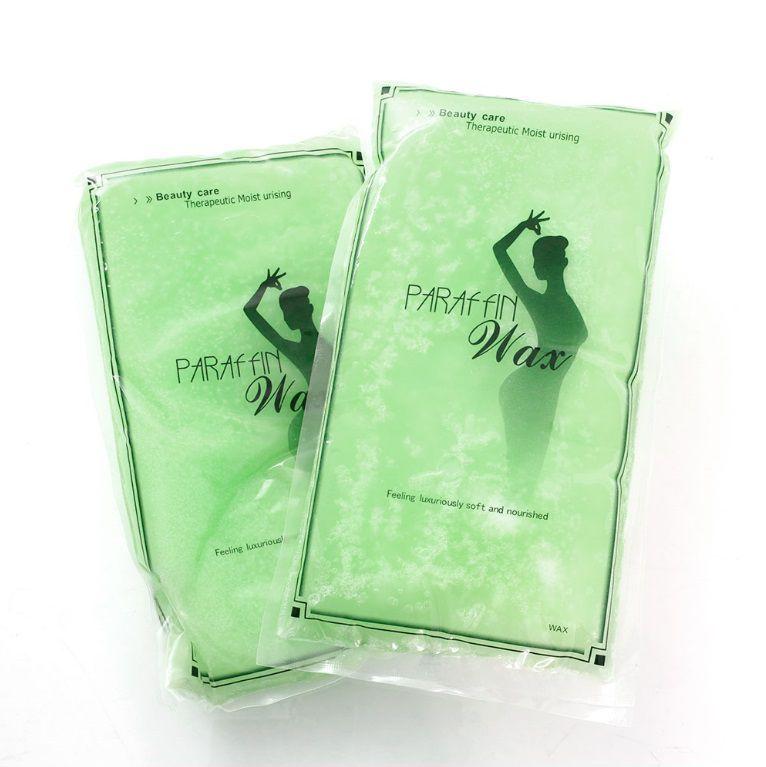 Kosmetický parafin 450g s vůní zeleného čaje