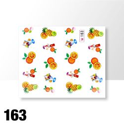 Vodolepky na zdobení nehtů č. 163