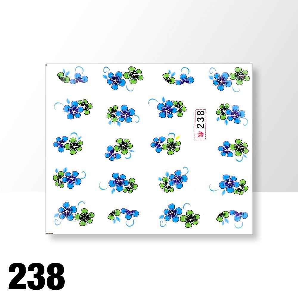 Vodolepky na zdobení nehtů č. 238