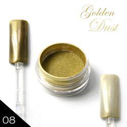 08. Chromatic pigment - GOLDEN DUST - Chromový efekt (A)