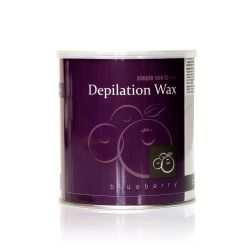 Depilační vosk z Řecka SIMPLE USE borůvkový - plechovka 800ml (A)