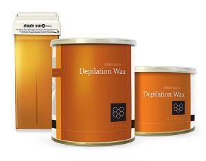 Depilační vosk z Řecka SIMPLE USE medový - plechovka 800ml