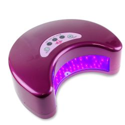 "LED lampa ""MOON"" 12W - fialová (A)"