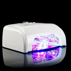 LED UV lampa se sušičkou K1 36W - bílá (A)