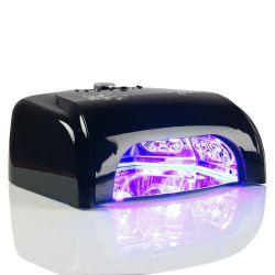 LED UV lampa se sušičkou K1 36W - černá (A)