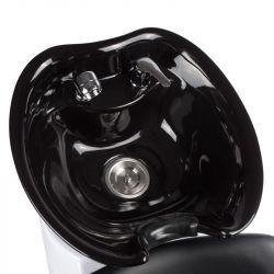Kadeřnický mycí box LIVIO BD-7822 černý varianta B
