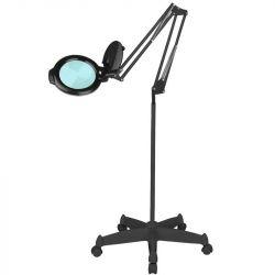 """Lampa s lupou LED MOONLIGHT 8012/5"""" černá na stativu"""