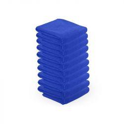 Ručník z mikrovlákna 73 x 40cm 10ks - modrý