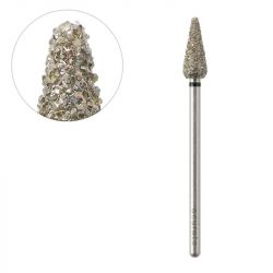 Frézka na pedikúru diamantová kužel 6,0/12,0mm ACURATA (AS)