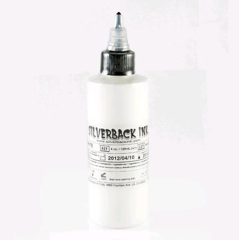Tetovací barva Silverback Ink XXX White-120ml (K)