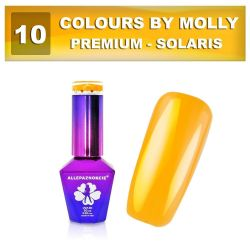 10 Gel lak Colours by Molly PREMIUM 10ml -SOLARIS- (A)