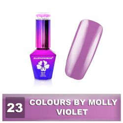 23 Gel lak Colours by Molly 10ml - Violet (A)