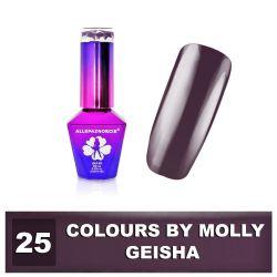 25 Gel lak Colours by Molly 10ml - Geisha (A)
