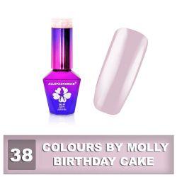 Gel lak Colours by Molly 10ml - Birthday Cake