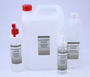 Lavosept® dezinfekce na nástroje a plochy 500 ml náhradní náplň - bez aroma