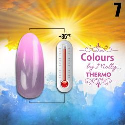 Gel lak Colours by Molly Thermo 07 - 10ml (A)