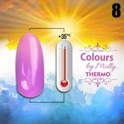 Gel lak Colours by Molly Thermo 08 - 10ml (A)