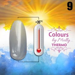 Gel lak Colours by Molly Thermo 09 - 10ml (A)