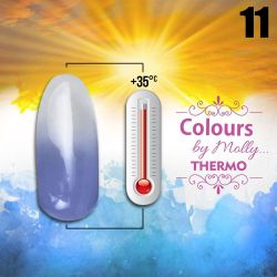 Gel lak Colours by Molly Thermo 11 - 10ml (A)