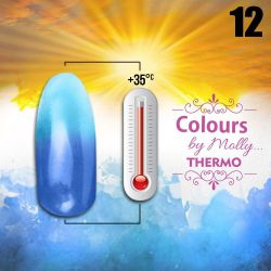 Gel lak Colours by Molly Thermo 12 - 10ml (A)