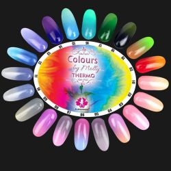 Gel lak Colours by Molly Thermo 16 - 10ml