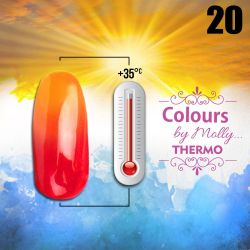 Gel lak Colours by Molly Thermo 20 - 10ml (A)