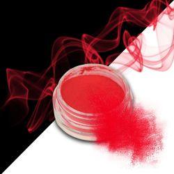 Nehtový pyl SMOKE NAILS - smoke efekt 07 NEON RED GRAPEFRUIT (A)