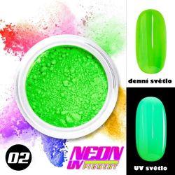 NEON UV pigment - neonový pigment v prášku 02 (A)
